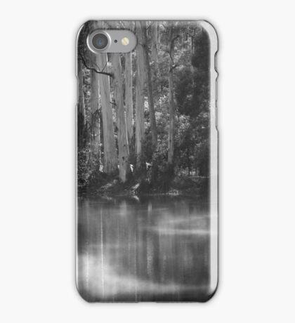 Black and White Lake  iPhone Case/Skin