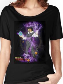 DBZ Tesla Women's Relaxed Fit T-Shirt