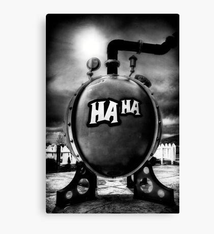 Toxic Humor Canvas Print