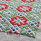 Medieval embroidery by tatsu
