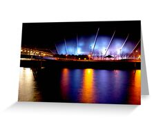 """""""River Clyde """" Glasgow  Greeting Card"""