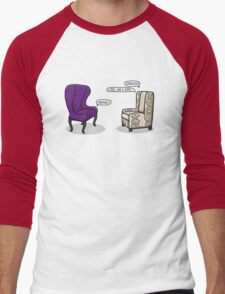 Consulting Armchair and Army Upholstery Men's Baseball ¾ T-Shirt