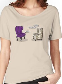 Consulting Armchair and Army Upholstery Women's Relaxed Fit T-Shirt