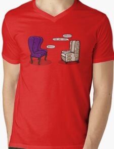 Consulting Armchair and Army Upholstery Mens V-Neck T-Shirt