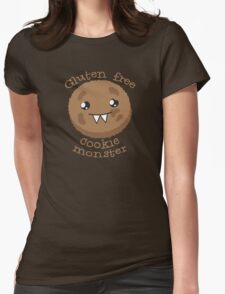 Gluten Free Cookie Monster with cute kawaii biscuit T-Shirt