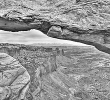 Through Mesa Arch in Canyonlands National Park, Utah by rjcolby