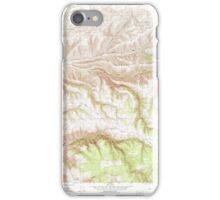 USGS Topo Map Washington State WA Cahill Mountain 240291 1967 24000 iPhone Case/Skin