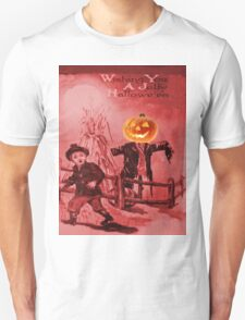 The Scarecrow (Vintage Halloween Card) T-Shirt