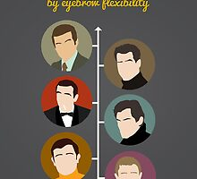 Bond, by eyebrow flexibility by Stephen Wildish
