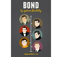 Bond, by eyebrow flexibility Photographic Print