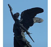 War Memorial Angel Photographic Print