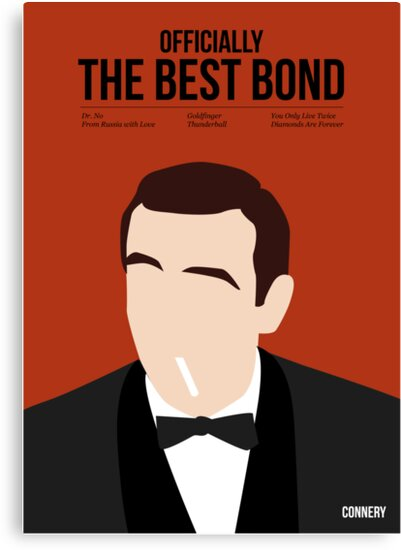 Officially the best bond - Connery! by Stephen Wildish