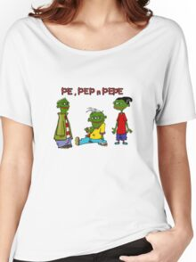 Pe, Pep n Pepe Women's Relaxed Fit T-Shirt