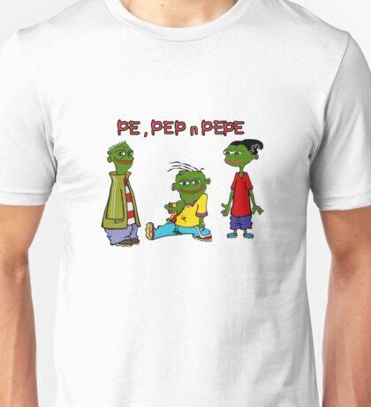 Pe, Pep n Pepe Unisex T-Shirt
