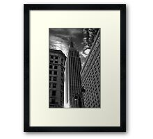 Sunrise in New York Framed Print
