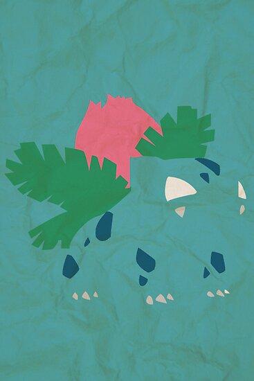 Ivysaur by jehuty23