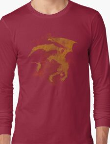 Dragonfight-cooltexture Long Sleeve T-Shirt
