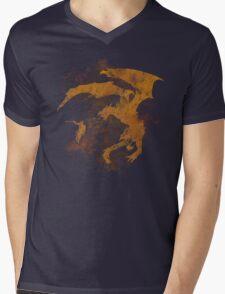 Dragonfight-cooltexture Mens V-Neck T-Shirt