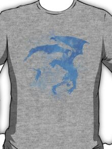 Dragonfight-cooltexture Inverted T-Shirt