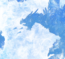 Dragonfight-cooltexture Inverted Sticker