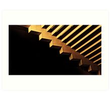 stairs steps staircases generic banner placeholder Art Print