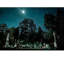 Fangelsbachfriedhof Photographic Print