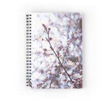 Hill blossoms  Spiral Notebook