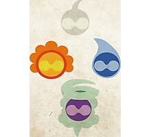 Castform Photographic Print