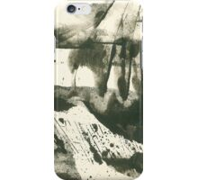 autumn landscape with snow iPhone Case/Skin