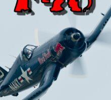 Vought F4U Corsair Sticker