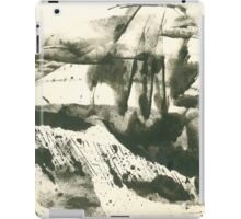 autumn landscape with snow iPad Case/Skin