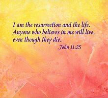 Graduation - John 11:25 by Diane Hall