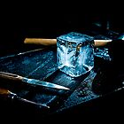 Handcrafted Ice Cube by wulfman65