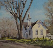 Calapooia Church by Karen Ilari