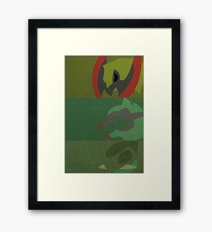 610, 611, 612 Framed Print