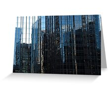 Ottawa Blue Reflection Greeting Card