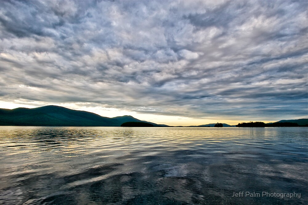 Sunrise on Lake George by Jeff Palm Photography