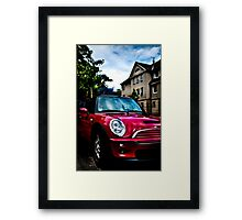 Red Mini Framed Print