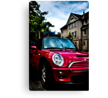 Red Mini Canvas Print