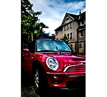 Red Mini Photographic Print