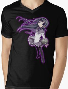Homura Akemi (rev. 2) Mens V-Neck T-Shirt