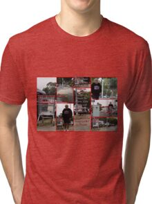 Going off my trolley!!!!   Tri-blend T-Shirt