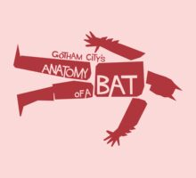 ANATOMY OF A BAT Kids Clothes