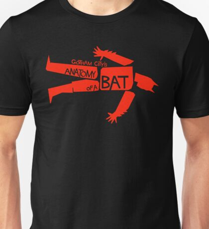 ANATOMY OF A BAT Unisex T-Shirt