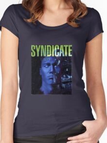 Syndicate Cover Women's Fitted Scoop T-Shirt