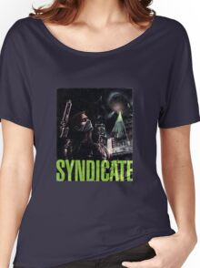 Syndicate Back Cover Women's Relaxed Fit T-Shirt