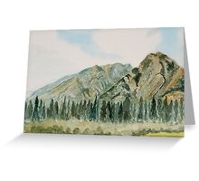 Mount Norquay, Alberta, Canada Greeting Card