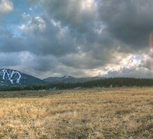 Martis Valley Panorama by Dory Breaux