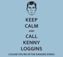 Danger Zone! (Black Fill) by BabyJesus