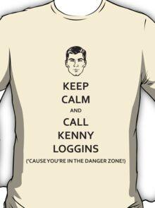 Danger Zone! (Black Fill) T-Shirt